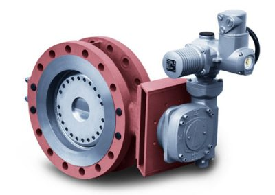 Four eccentric butterfly valve