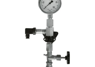 electronic pressure measuring station