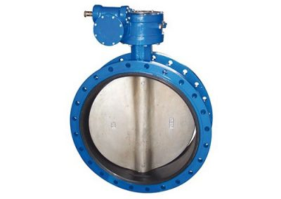 Butterfly Valve softsealed  double flange