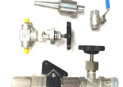 measuring instruments and valves