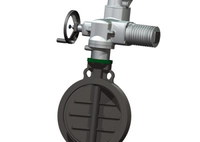 RIA butterfly valve wafer type